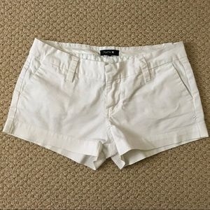 Hurley Size 5 White Shorts